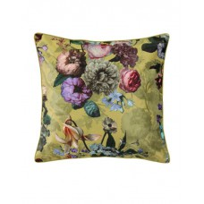 Essenza Fleur cushion Golden yellow