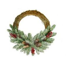 Kerstkrans Dunhill