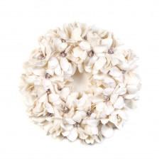 Krans met magnoliabloemen