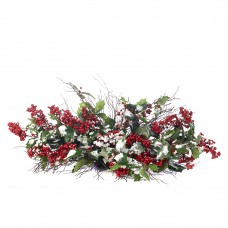 Tafeldecoratie 'Snow Holly Berry'