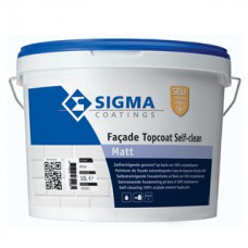 Sigma Facade Topcoat Self-Clean Matt Kleur