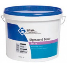 Sigmacryl Decor Satin Kleur